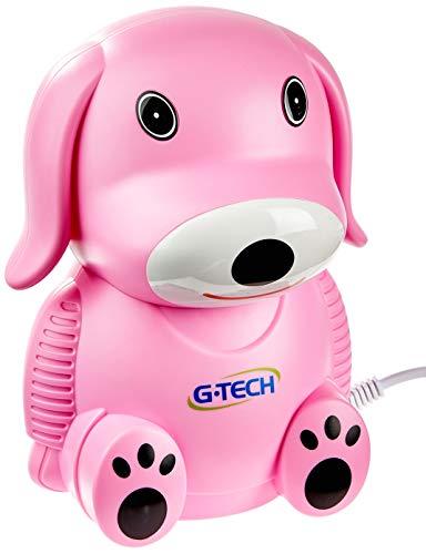 Inalador Nebulizador Nebdog Bivolt, G-Tech, Rosa