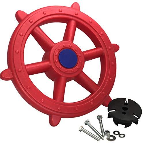 Loggyland Piraten-Lenkrad für Spielturm 40 cm, mit Geräuschen
