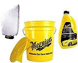 Práctico Juego de Auto lavado. Meguiars Lavado Cubo Grit Guard 13L...