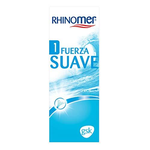 Rhinomer - Spray nasal 100% agua de mar, fuerza Suave 1, para adultos y niños a partir de 1 año - 135 ml