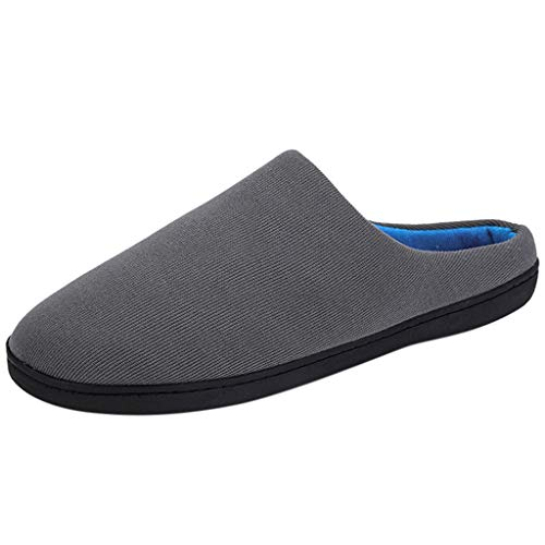 Buy Bargain Women's Men's Comfort Exquisite Upper Memory Foam Slippers House Slippers Slip-on Anti-S...