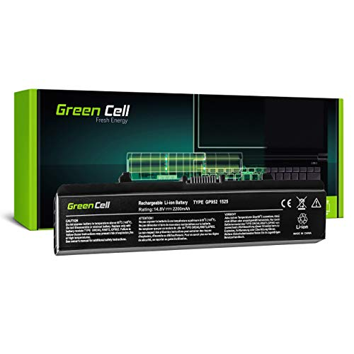 Green Cell M911 M911G OGW240 P505M RN873 RU573 RU583 RU586 RU591 RW240 UK716 WK371 WK379 WK380 WK381 WK381V WP193 X284G XR682 XR693 XR694 Battery for Dell Laptop (2200mAh 14.8V Black)