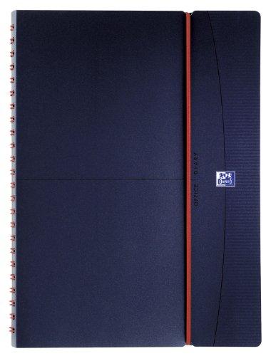 Oxford 100738174 Lehrerkalender Kalendarium 2019/2020 Format DIN A4 Spiralbuch Ringblock in dunkelblau Planer für Lehrer