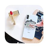 LLYAP for iPhone XS Max X 8 7 6 Plus 12 11Proケース用高級ブリンブリンラインストーンダイヤモンドクリスタルソフト透明カバーfor iPhone XRケース用-G-for iPhone SE 2020