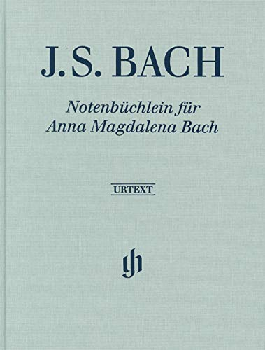 Notenbüchlein für Anna Magdalena Bach 1725, Klavier zwei ms, Leinenausgabe