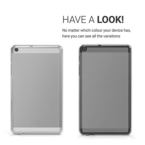 kwmobile Crystal Case for Huawei MediaPad T1 7.0 / Honor Play Tablet T1 TPU Silicone Case Protective Cover in transparent