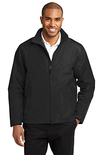 Port Authority® Challenger™ II Jacket. J354 True Black/True Black M