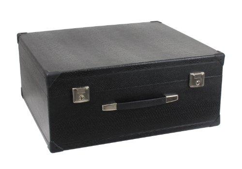 Alpenklang 120-Bass Akkordeon Koffer (Tragekoffer für 72-Bass Akkordeons, Holzkern, Kunstlederbezug)