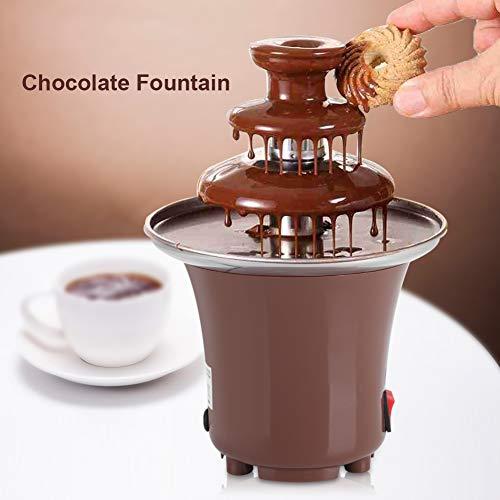 Haofy chocoladefontein, 3-dier, chocoladefondue, Fountain Electric roestvrij staal