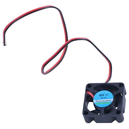 Gesh Ventilador de refrigeración activo para Raspberry Pi 3 modelo B / 2B / B+ - negro