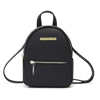 ASTIR COLLEEN Women/Girls PU Leather Sling Bag Cum Backpack (Flat_Zip)