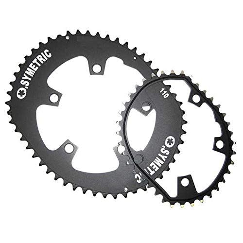 Osymetric Dura Ace Chainring, Black, 110 mm
