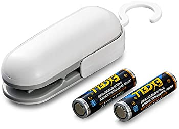 Luwatt Handheld Mini Bag Sealer with 2 AA Batteries Included