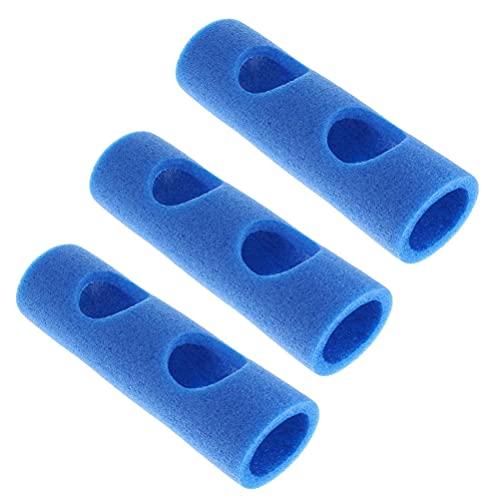 Pppby Schwimmnudel Poolnudel Verbinder 3 Pcs Verbindungsstück für Schwimmnudeln Schwimmnudel-Schaumstock-Anschluss Gut für Heimwerker Wasser Poolspielzeug für Erwachsene Kinderspielzeug