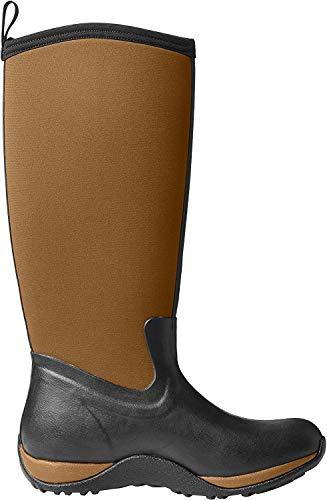 Muck Boots Muck Boots Damen Women's Arctic Adventure Gummistiefel, Schwarz (Black/tan), 37 EU