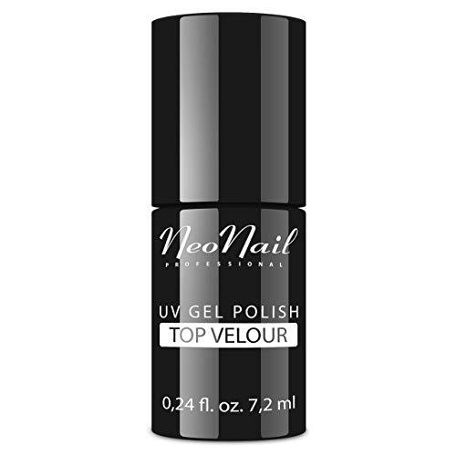 NeoNail UV Nagellack 7,2 ml - Top Velour - UV Lack Gel Polish Soak off Nagellack UV Gel LED Polish Lack Shellac