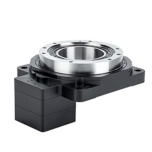 L.J.JZDY Caja de Cambios Motor Stepper NEMA23 Caja de Engranajes 5: 1 Plataforma giratoria Hueca 85 mm 360 Turnata 28NM Box de Cambios de Salida de Brida Redonda