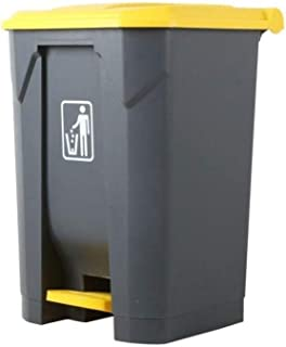 LONGren Trash Bin,Trash Can Outdoor Trash Can, High Capacity Kitchen Trash Can with Lid Plastic Lid 87L, 68L, 45L, 30L Tra...