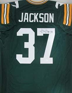 Packers Cornerback Josh Jackson Autographed Signed Custom Green Jersey Auto - JSA
