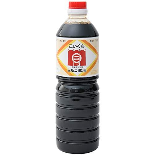 新原味噌醤油工場 マルニこいくち醤油 甘口 1000ml