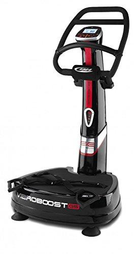 BH Fitness Plataforma Vibratoria yv30rs, Negro, 70x 70x 140cm, yv30rs