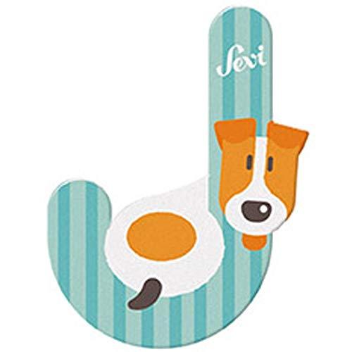 Sevi 83010 Buchstabe J Jack Russel - 10 cm