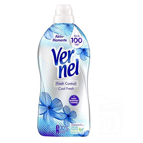 Vernel Fresh Control Cool Fresh, Weichspüler gegen schlechte Gerüche, 360 (6 x 60) Waschladungen