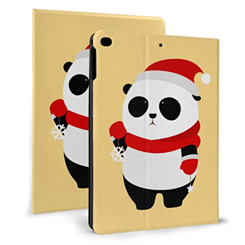 Ipad Cover For Men Giant Cute Panda Wear Hat Ipad Cases For Kids For Ipad Mini 4/mini 5/2018 6th/2017 5th/air/air 2 With Auto Wake/sleep Magnetic Mini Ipad Covers