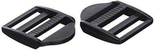 Prym 416392 - Klemm-Leiterschnallen KST 40 mm schwarz