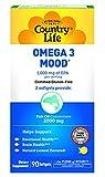 Country Life Omega 3 Mood -- 90 Softgels