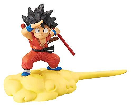 BANPRESTO Name Dragon Ball - Kintoun Figure - Son Goku Red - 13 cm (r), Multicolore