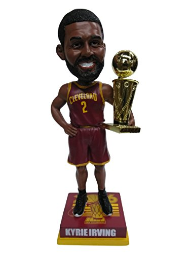 Forever Collectibles Kyrie Irving Cleveland Cavaliers 2016 NBA Champions Special Edition Wine Jersey Bobblehead Bobble Head - Individually Numbered to 186