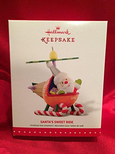 Hallmark Keepsake Ornament Santa's Sweet Ride Helicopter 2015