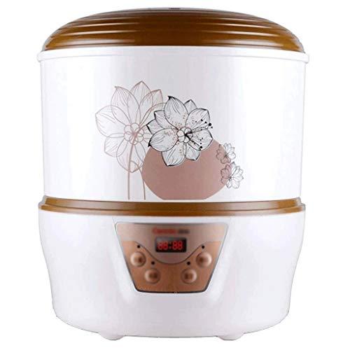 XJJZS Mayor Fabricante de Yogur + BPA Libre de contenedores de Almacenamiento y la Tapa, Orgánico, azucarado, con Sabor, sin azúcar o sin azúcar Opciones Ideales for bebés