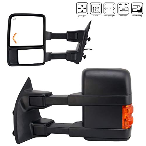 08 f250 towing mirrors - 1