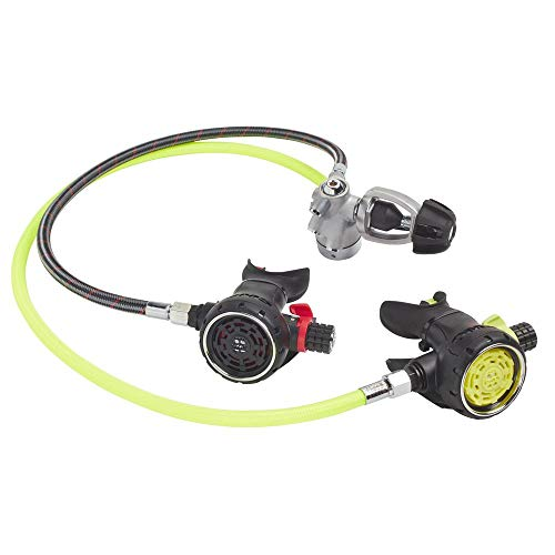 OMS Airstream Evoque Regulator with Octo Combo (Yoke 1st Stage)