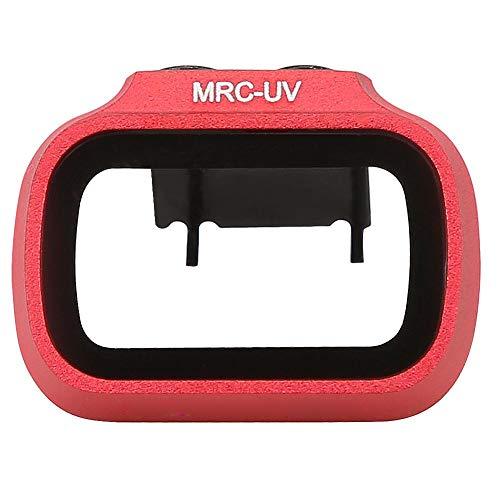 T best Filtro UV, Accesorio de Filtro de Lente de cámara UV de dron Profesional para dji Mavic Mini(Rojo)