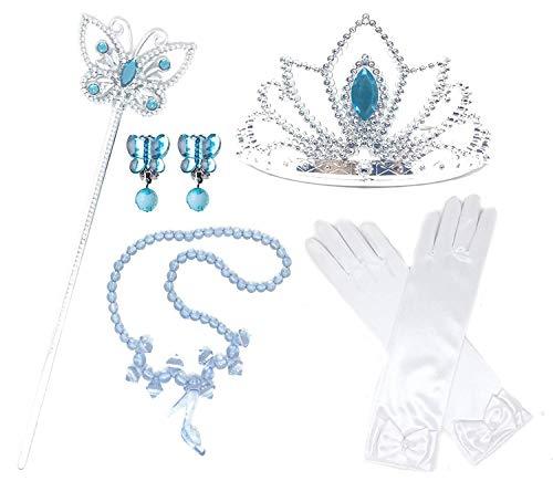 Princess Cinderella Dress up Party 4-Piece Accessories Gift Set (Cinderella)