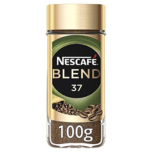 NESCAF? BLEND 37 Instant Coffee Jar, 100 g (Pack of 6)