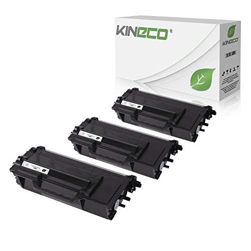 3 Kineco Toner kompatibel für Brother TN-3480 für Brother HL-L6300DW HL-L-L5100DNTT HL-L5000D HL-L5100DN HL-L5100DNT