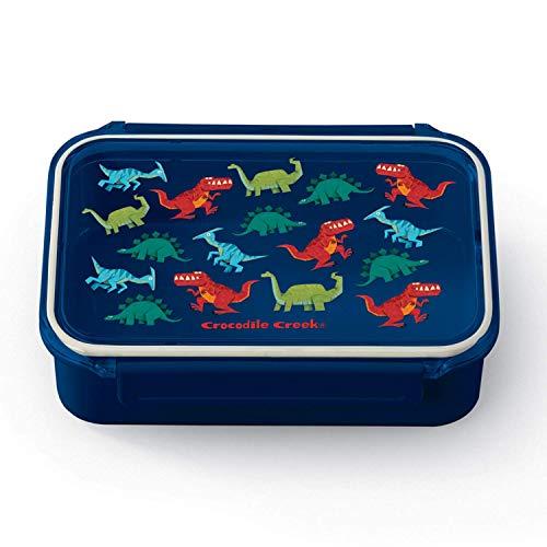 CROCODILE CREEK CC-3865406 - Fiambrera de doble compartimento Bento Box de los dinosaurios