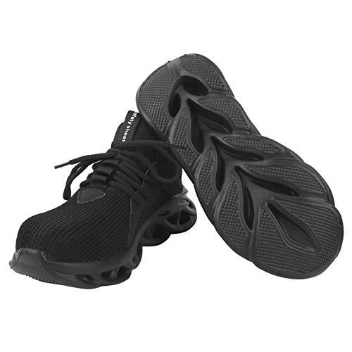 FOLOSAFENAR Calzado de Senderismo Calzado de Seguridad Resistente al Desgaste Mujer Senderismo al Aire Libre(42)