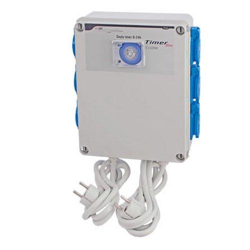 Temporizador/Programador GSE Timer Box 6x600w 4x16A 230V (GSE-11)