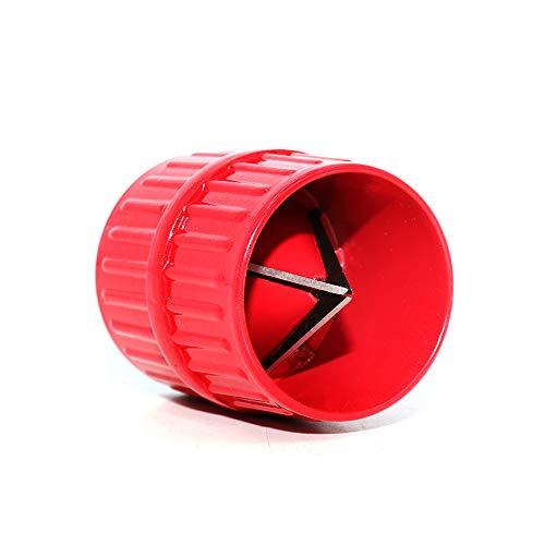 PEAK-EU 2 in 1 Entgrater Kunststoff Universal Kupferrohr Rohre für Innen- und Außen 6-38 mm (1 Stück)