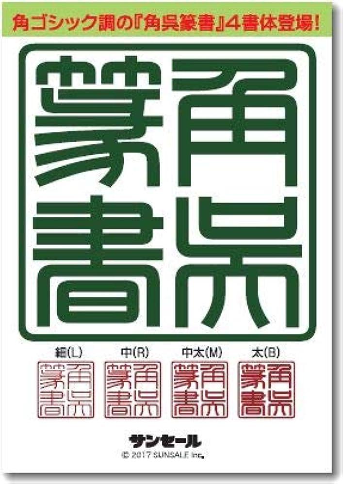 質素な予測子カジュアル角呉篆書ファミリー(4書体) 細(L),中(R),中太(M),太(B)TrueType Hybrid | PC/Mac
