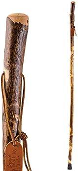 Brazos Handcrafted of Lightweight Wood Trekking Pole Hiking Stick