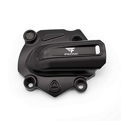 FXCNC Racing en Aluminium Moto Pompe À Eau Couverture Protecteur Protection pour Ducati Monster 821 2014 2015 2016