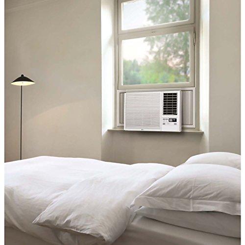 LG LW2416HR 23000 BTU 230V Heat Window-Mounted Air Conditioner, White (Renewed)