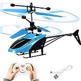FORMIZON Helicóptero RC, Mini Helicóptero de Control Remoto con Luces LED, Despegue/Aterrizaje con...