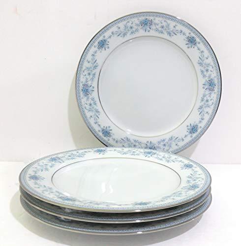 Noritake China Blue Hill #2482 Salad Plate - Set of 4
